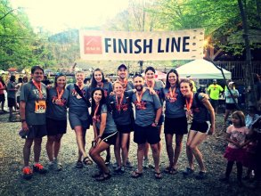 Team NOC Completes Grueling Smoky Mountain Relay