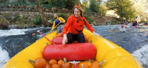 500 Pumpkins, 30 Kayakers & 1 Beaver-shark. It's NOCtoberfest!
