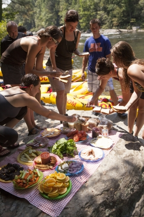 What's in NOC's Famous Chattooga River Two-Bean Hummus?