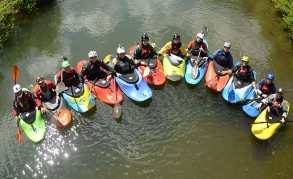 NOC's Youth Paddling Team Partners with Nantahala Racing Club