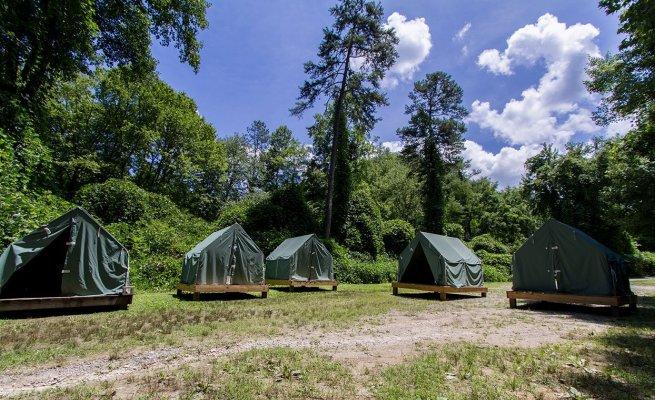 PrevNext & Platform Tents   Nantahala Outdoor Center