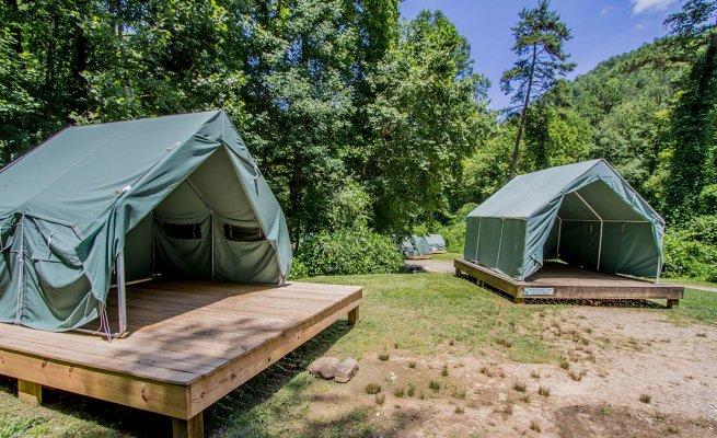 Platform Tents & Platform Tents | Nantahala Outdoor Center