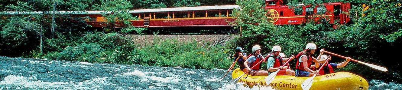 Bryson city train ride webcam