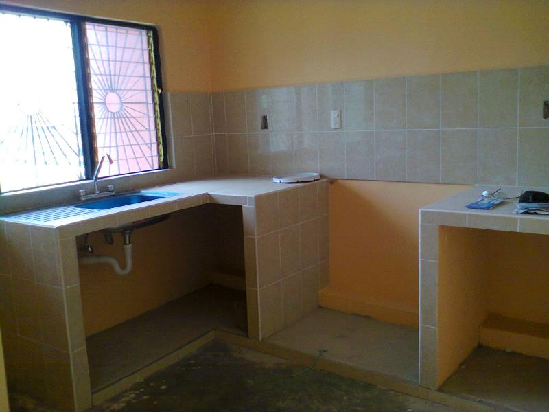 Cocinas De Cemento Y Azulejo Solo Otra Idea De La Imagen De La Casa