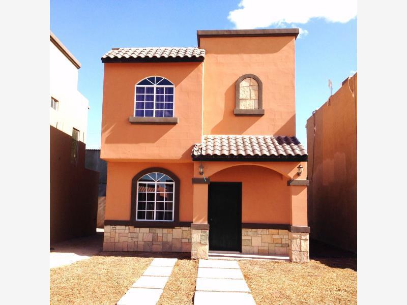 Casa en venta terracota cerrada residencial mexicali - Colores para paredes exteriores casa ...