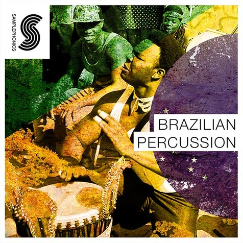Brazilian Percussion World Loops and Samples, Royalty Free 24-Bit