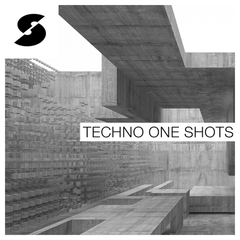 Techno One Shots Techno Loops and Samples, Royalty Free 24