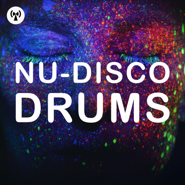 Nu disco drums artwork
