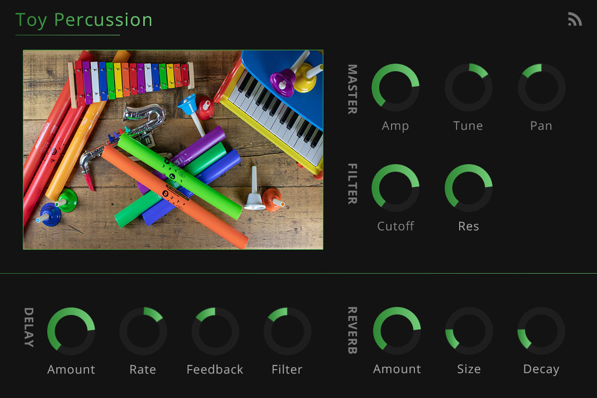 Toy percussion screenshot 1