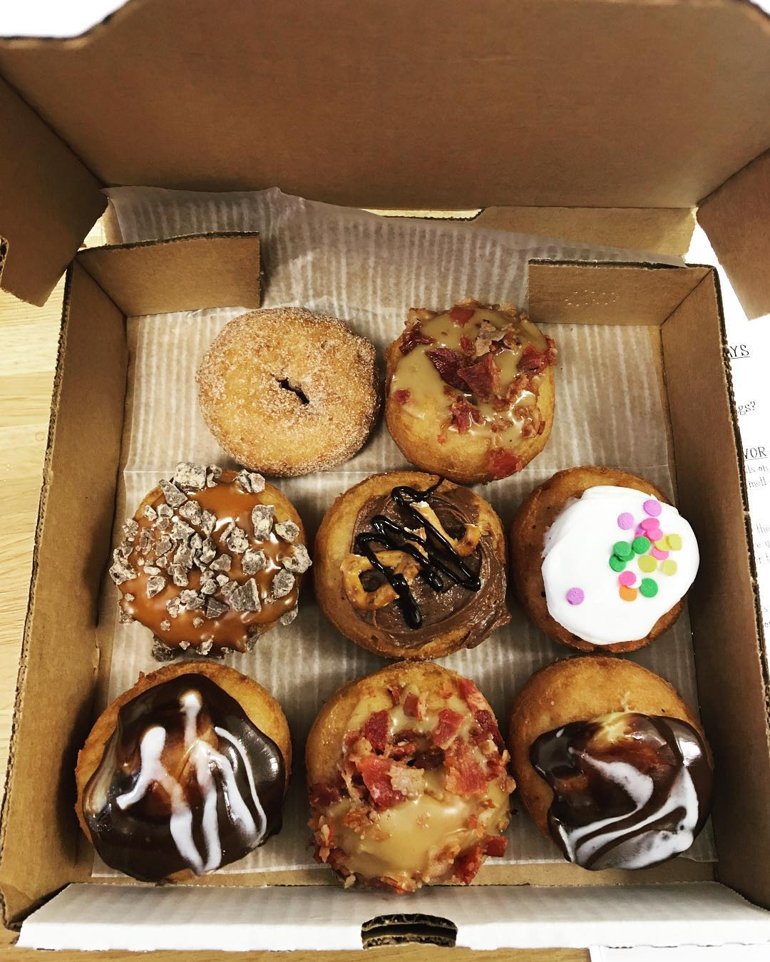 davinci s donuts visual menu reviews by food bloggers instagrammers