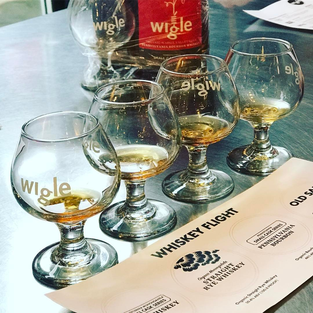 Wigle Whiskey Barrelhouse And Whiskey Garden: Visual Menu/Reviews By Food  Bloggers/Instagrammers