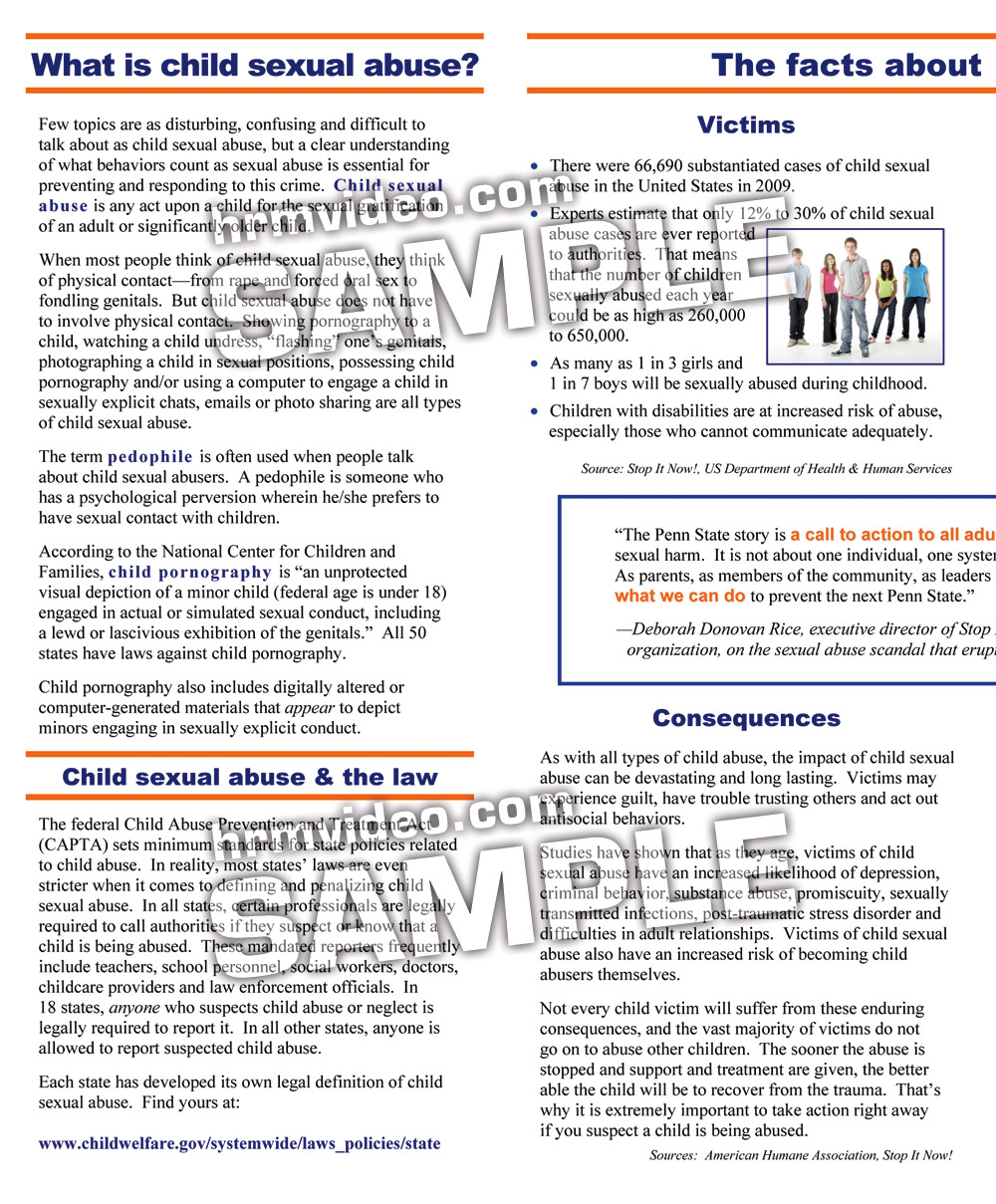 What Every Parent Needs To Understand >> Child Sexual Abuse What Every Parent Needs To Know Human