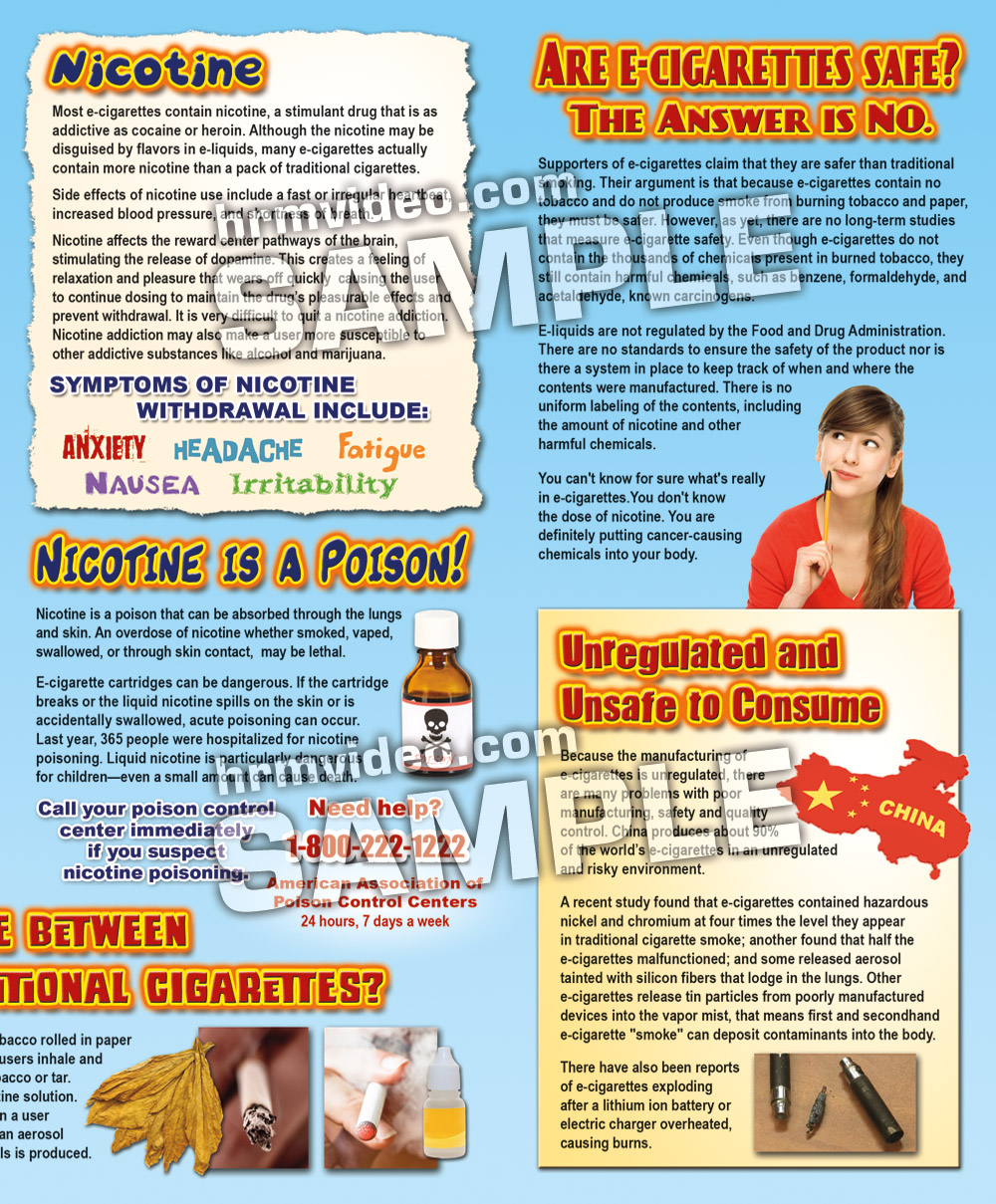 a description of cigarettes addiction and product dangers The leaves are dried and crushed before they are put in tobacco products tobacco has a lot of chemicals that can hurt your body  what is an addiction .