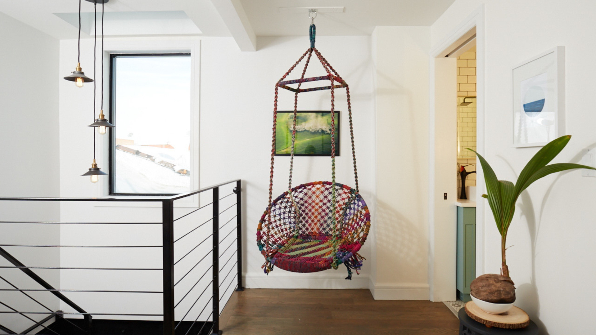 1   brooklyn hanging chair