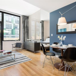 A $2,830.00, 0 bed / 1 bathroom apartment in Williamsburg