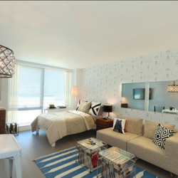 A $2,776.00, 0 bed / 1 bathroom apartment in Williamsburg
