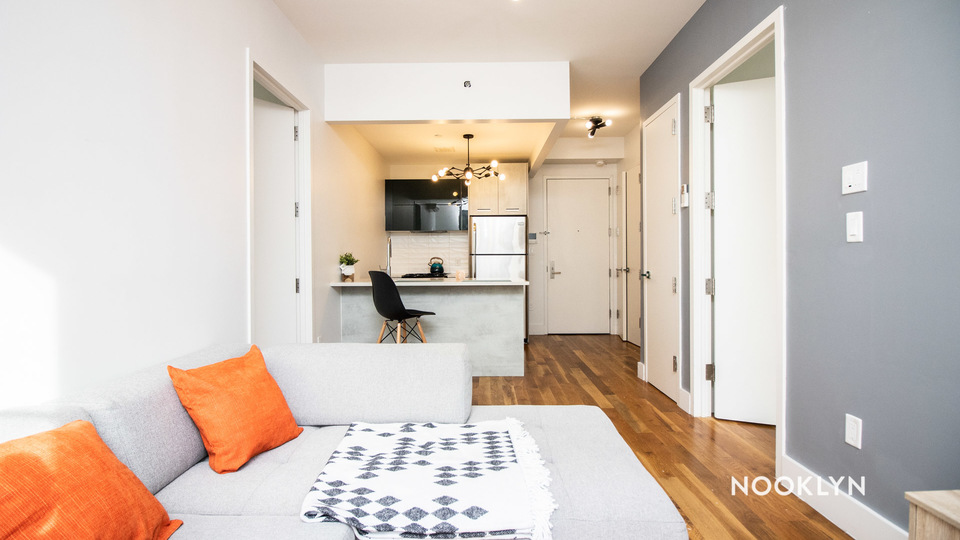 A $2,350.00, 2 bed / 1 bathroom apartment in Crown Heights