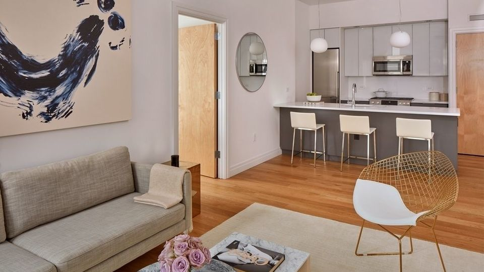 A $5,587.00, 2 bed / 2 bathroom apartment in Williamsburg