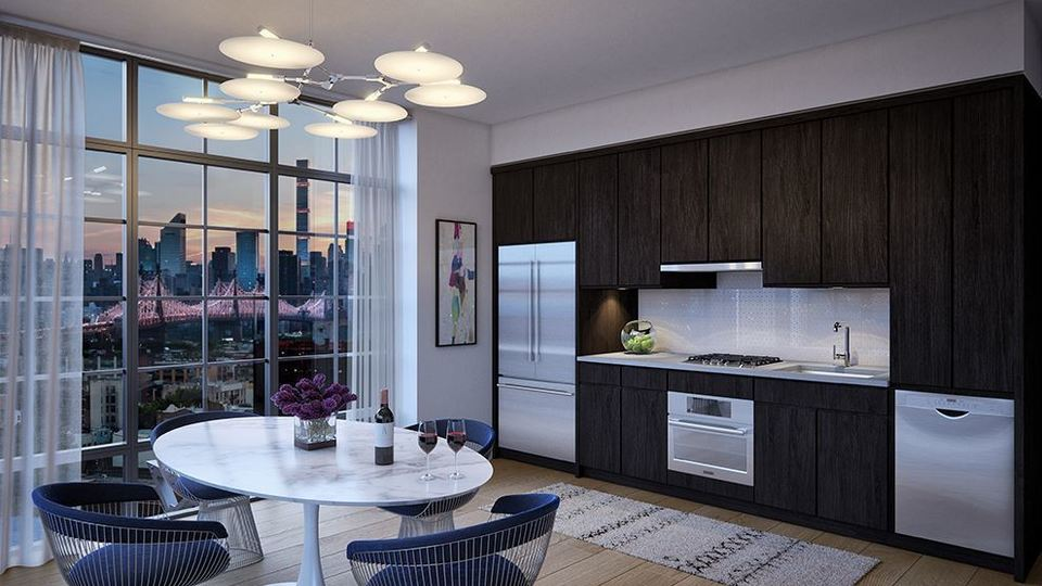 A $4,523.00, 2 bed / 2 bathroom apartment in Long Island City