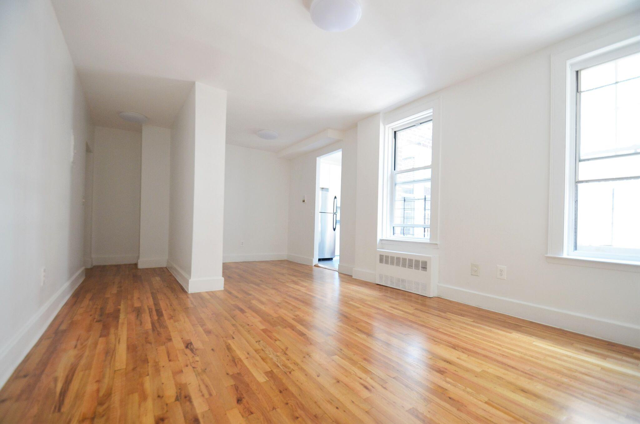 Living room towards looking towards kitchen