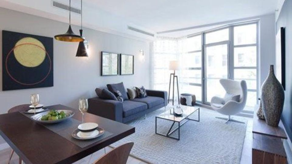 A $4,212.00, 0.5 bed / 1.5 bathroom apartment in Williamsburg