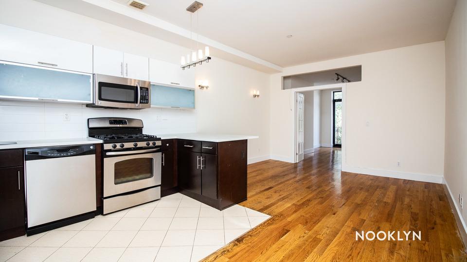 A $2,775.00, 4 bed / 2 bathroom apartment in Bushwick