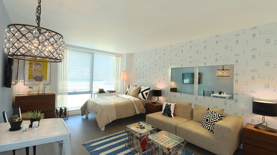 A $2,469.00, 0 bed / 1 bathroom apartment in Williamsburg