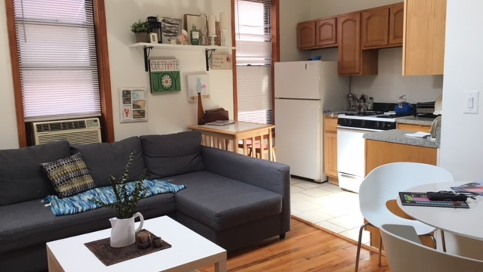 A $3,100.00, 3 bed / 1 bathroom apartment in Williamsburg