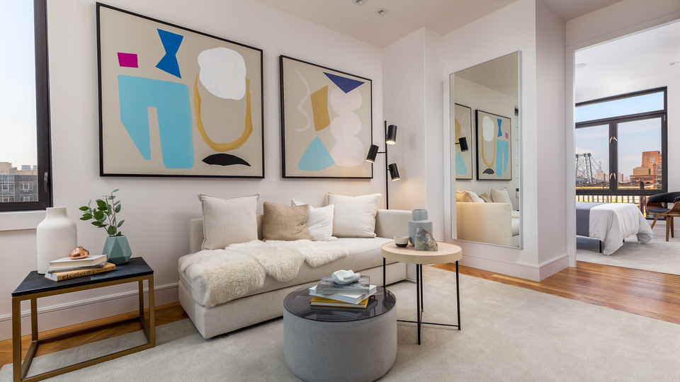 A $4,166.00, 2 bed / 1 bathroom apartment in Williamsburg