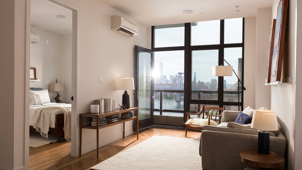 A $3,694.00, 2 bed / 1 bathroom apartment in Williamsburg