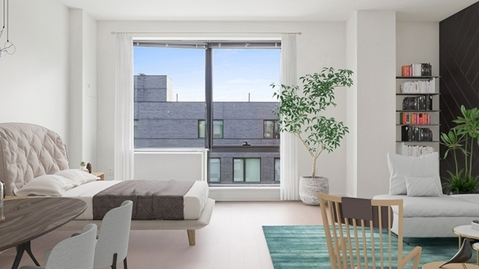 A $2,527.00, 0 bed / 1 bathroom apartment in Williamsburg