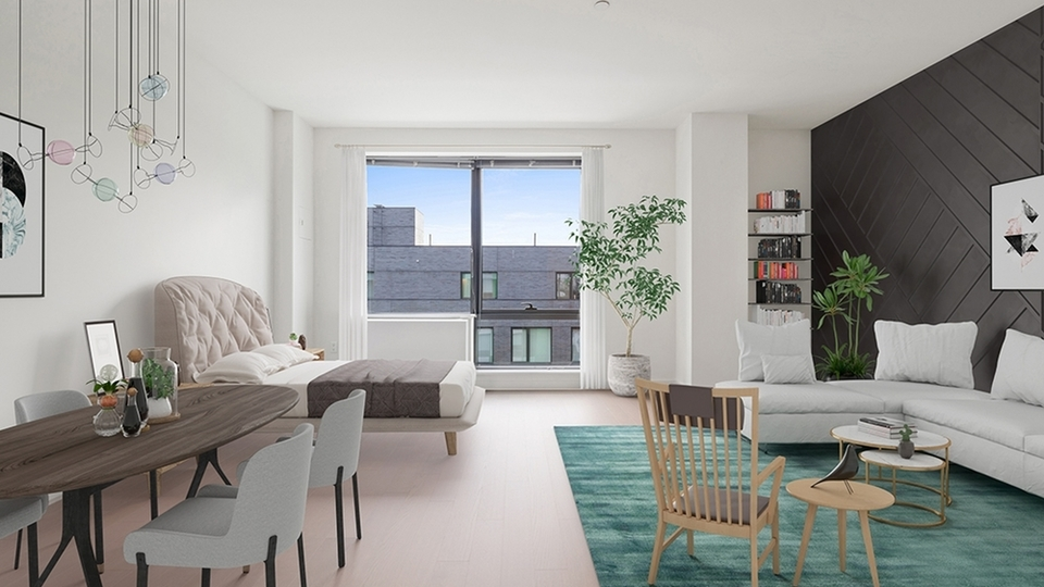 A $2,463.00, 0 bed / 1 bathroom apartment in Williamsburg