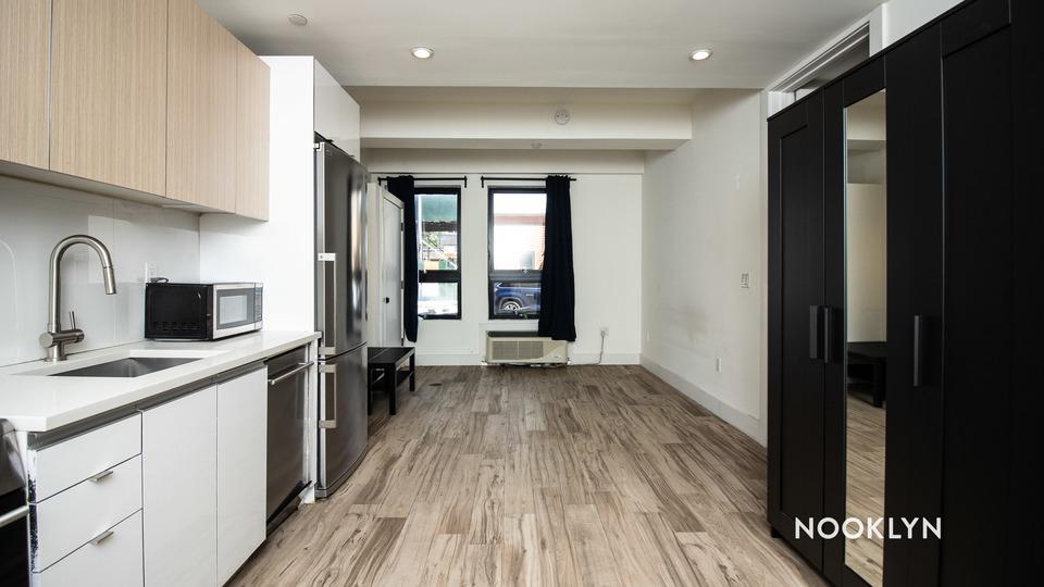 A $1,999.00, 0 bed / 1 bathroom apartment in Bushwick