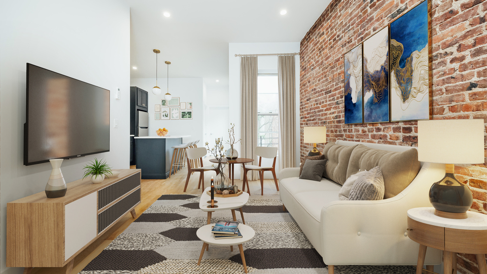 A $3,250.00, 3 bed / 2 bathroom apartment in Greenpoint