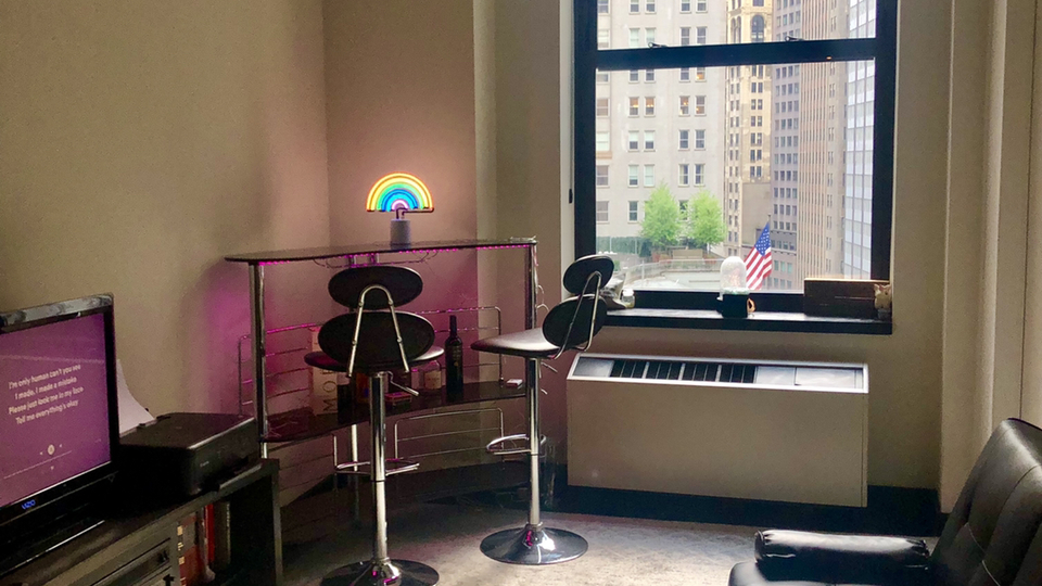 A $1,800.00, 2 bed / 1 bathroom apartment in Financial District