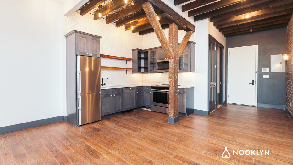 A $2,795.00, 2 bed / 1 bathroom apartment in Williamsburg