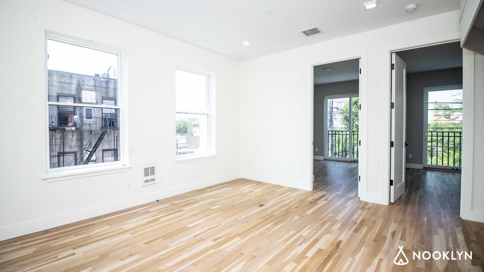 A $3,000.00, 2 bed / 1 bathroom apartment in Bushwick