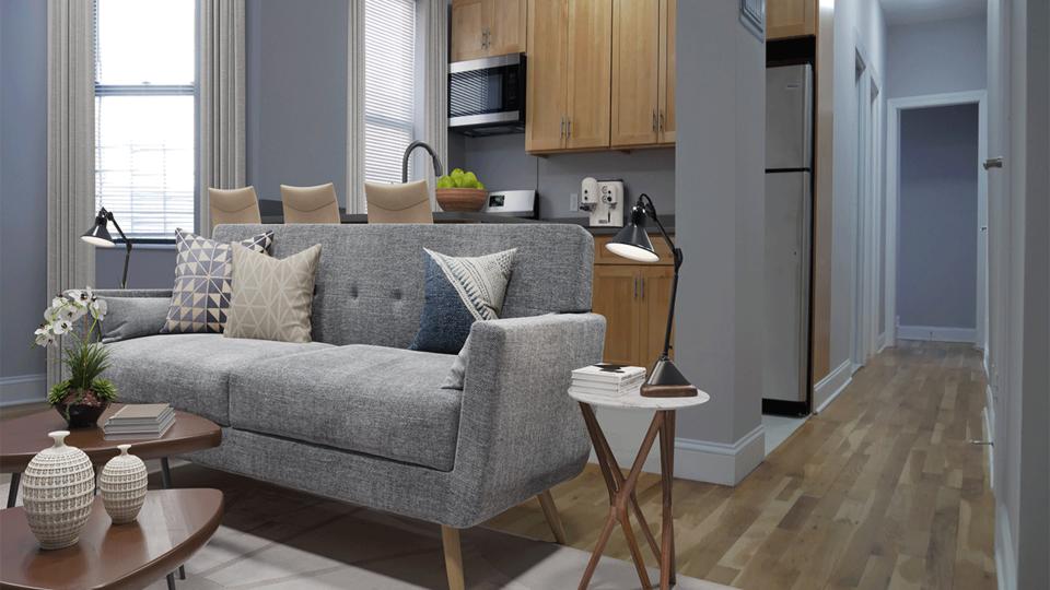 A $4,195.00, 4 bed / 2 bathroom apartment in Washington Heights