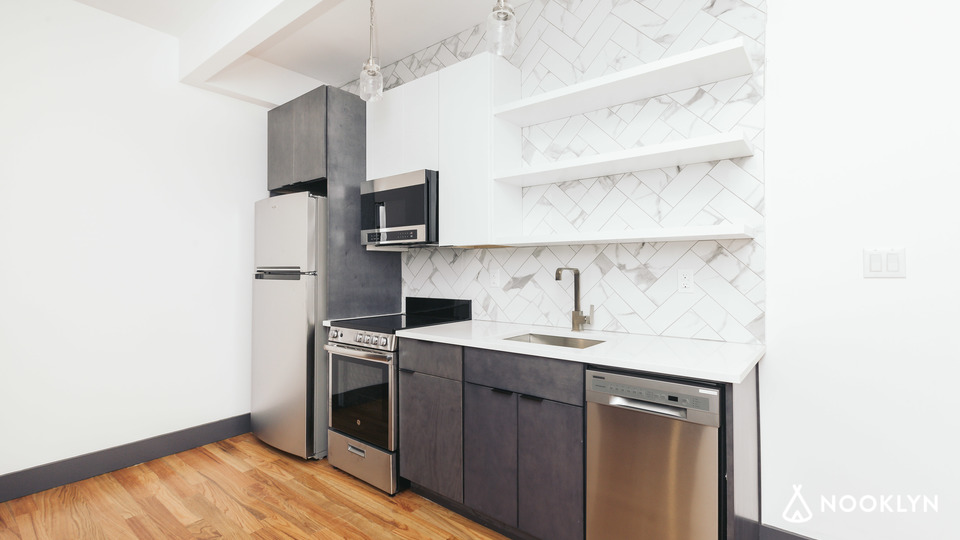 A $4,125.00, 4 bed / 3 bathroom apartment in Bushwick