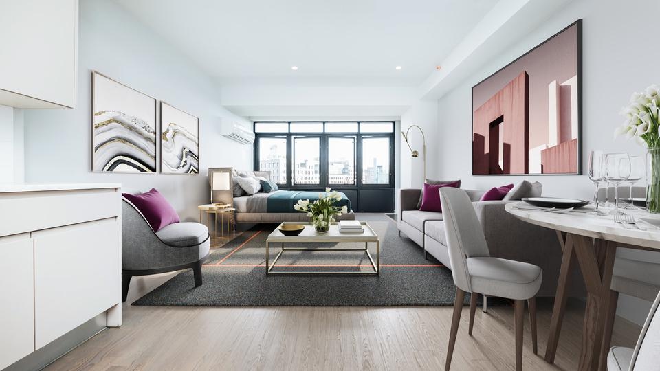A $2,204.00, 0 bed / 1 bathroom apartment in Bushwick