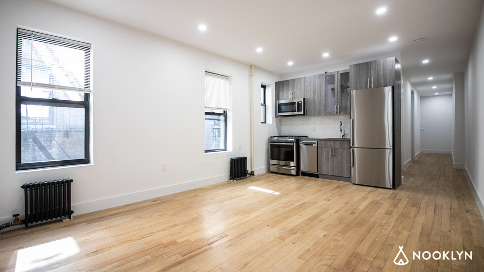 A $3,595.00, 4 bed / 2 bathroom apartment in Harlem