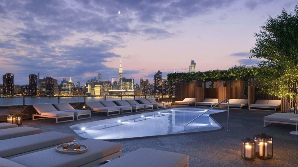 A $6,457.00, 2 bed / 2 bathroom apartment in Greenpoint