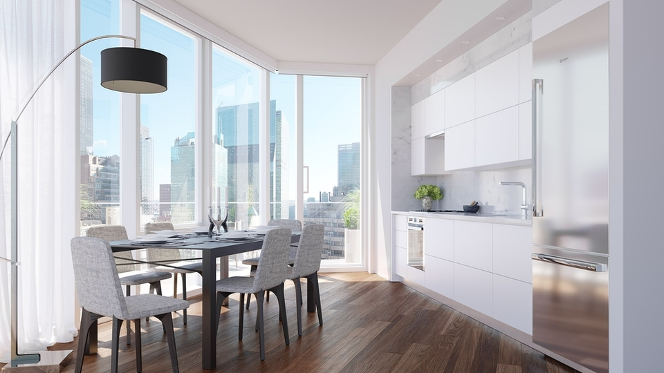 A $3,925.00, 0 bed / 1 bathroom apartment in Midtown