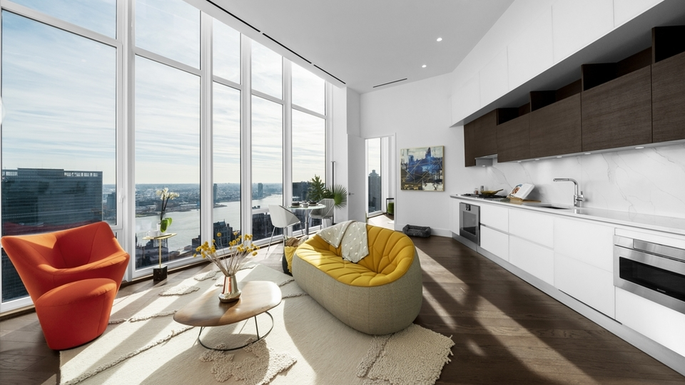 A $9,046.00, 1 bed / 1.5 bathroom apartment in Midtown