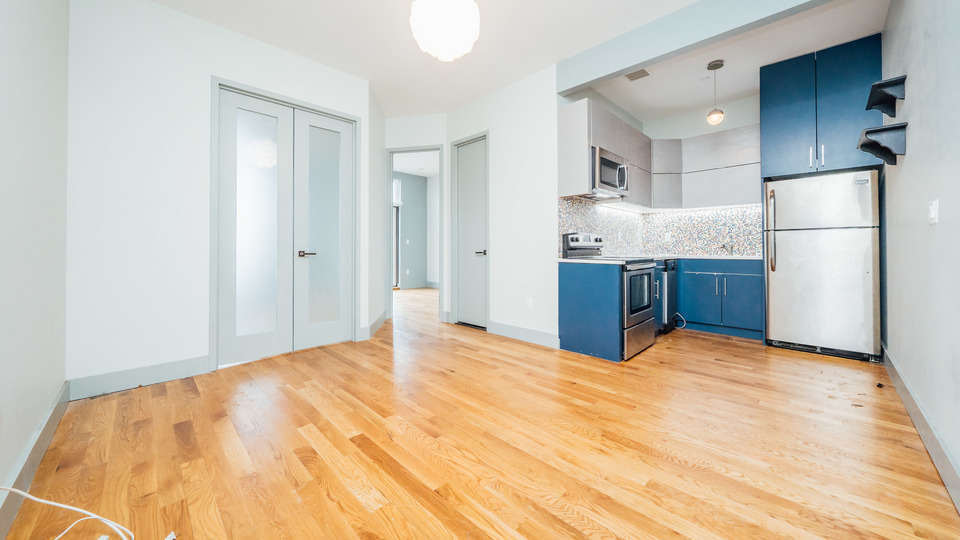A $2,295.00, 2 bed / 1 bathroom apartment in Bushwick