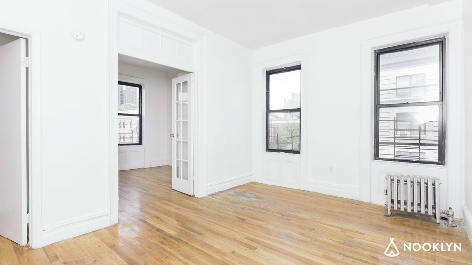 A $2,200.00, 2 bed / 1 bathroom apartment in Harlem