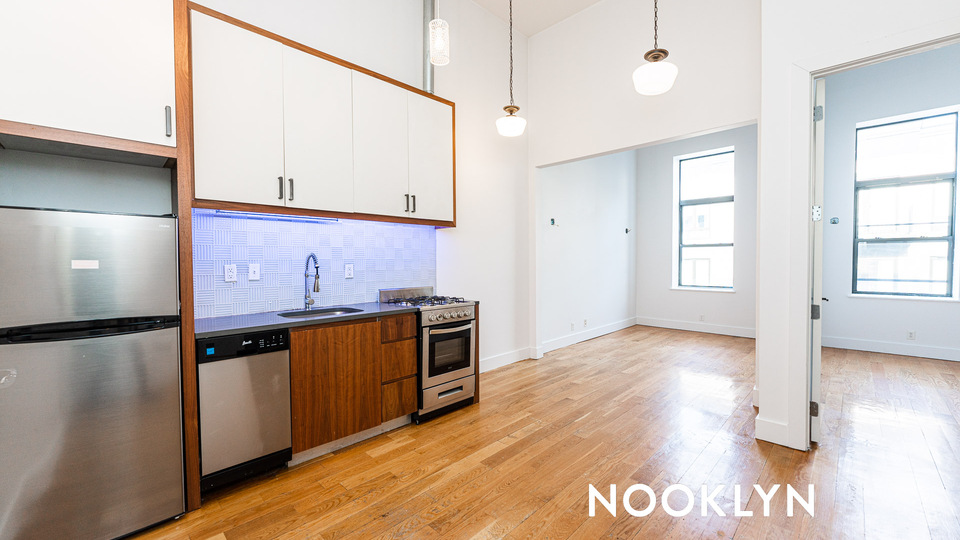 A $2,200.00, 1 bed / 1 bathroom apartment in Bushwick