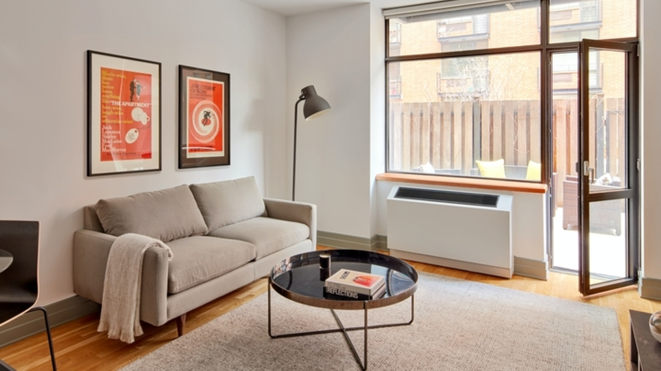 A $2,792.00, 0.5 bed / 1 bathroom apartment in Boerum Hill