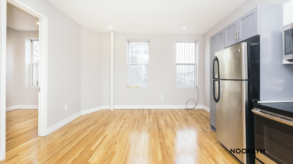 A $2,450.00, 3 bed / 2 bathroom apartment in Williamsburg