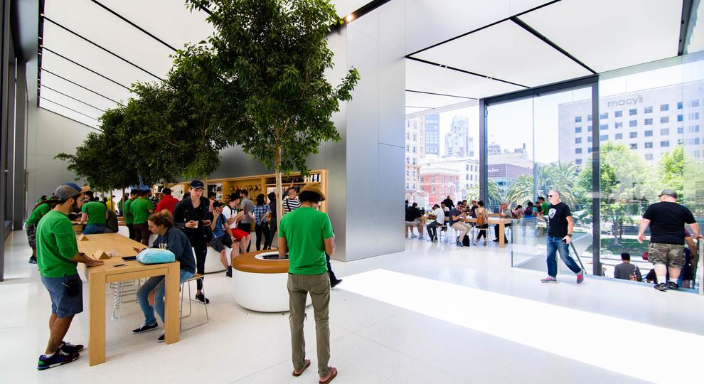 Apple store union square 5